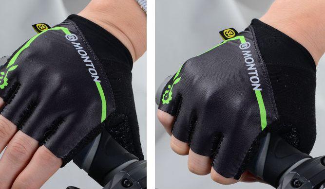 monton骑行手套半指手套