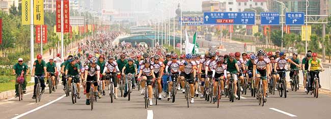 单车运动,健康生活