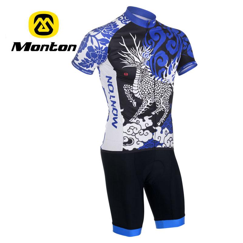 monton原创,中国风骑行服,麒麟骑行服