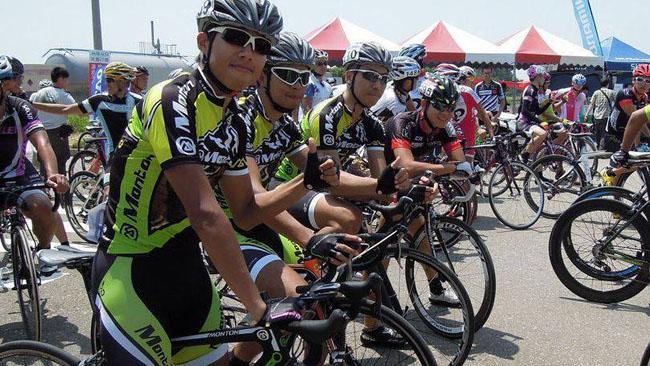 monton车队,自行车比赛