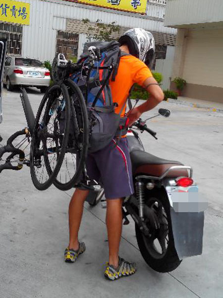 Monton车队,老虎衣,陆虎骑行服,玉山塔塔加自行车比赛