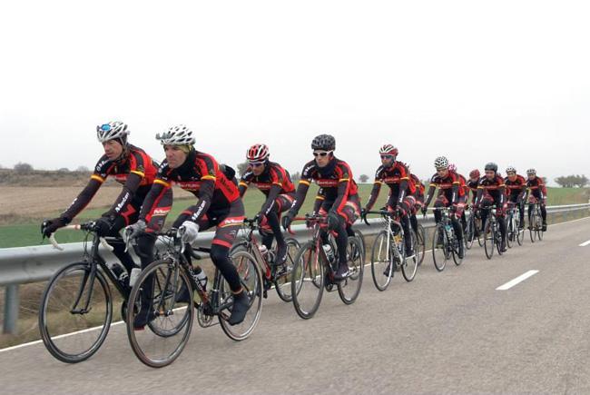 Monton-Tricantina自行车队,自行车赛