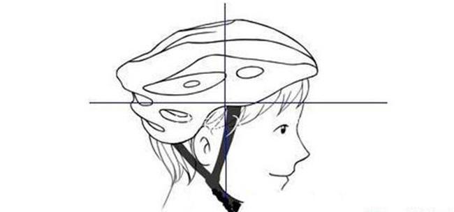 自行车头盔的正确佩戴方法
