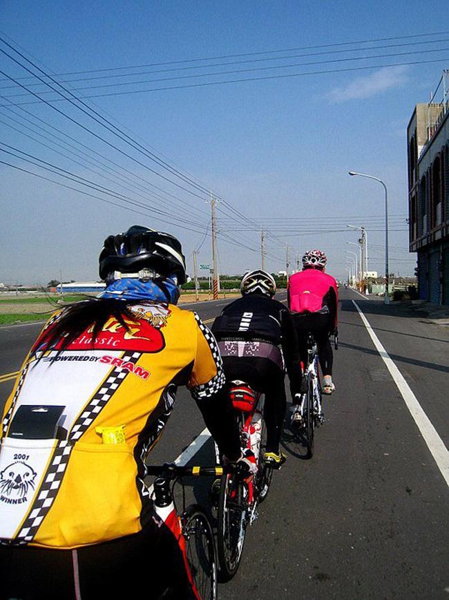 monton,骑车拍照